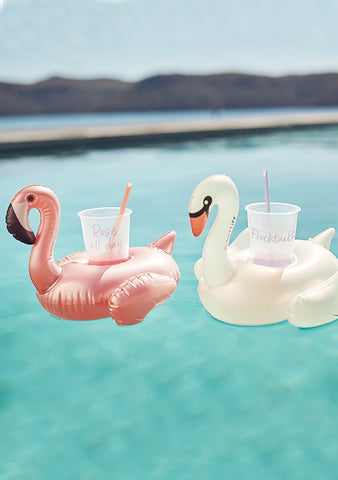 Party Disco Birds Inflatable Drink Holders
