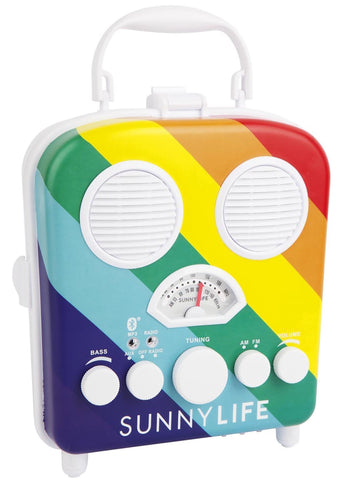 Beach Sounds Rainbow Bluetooth Speaker