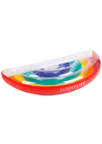 Luxe Rainbow Lie-On Float