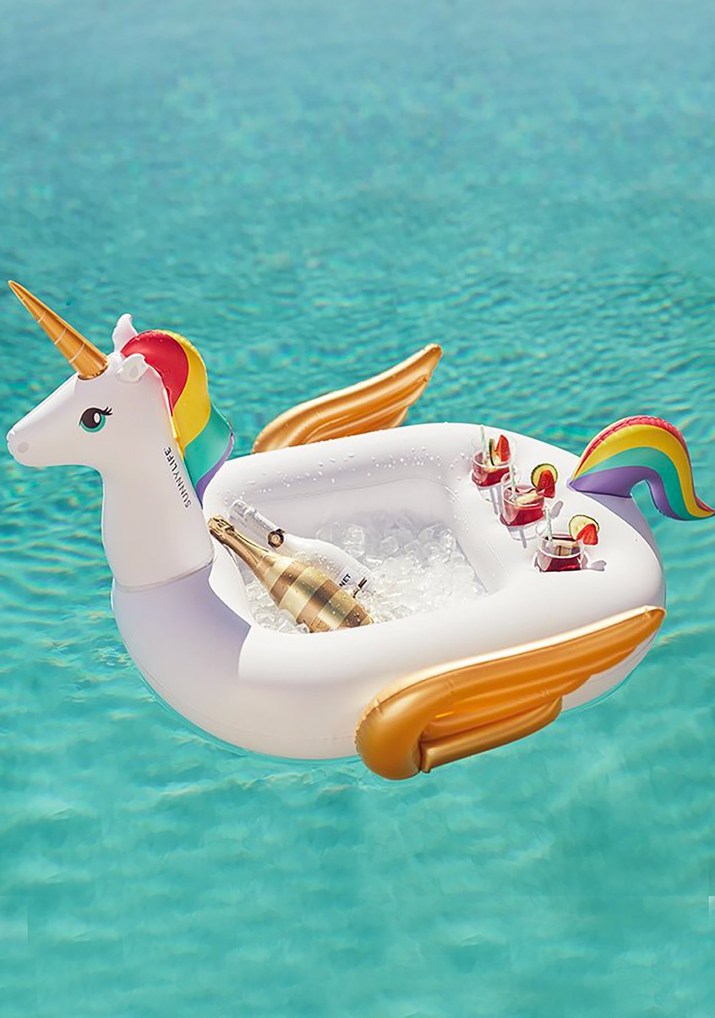 Unicorn Inflatable Pool Bar
