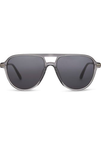 Beckett Sunglasses in Smoke Grey Crystal