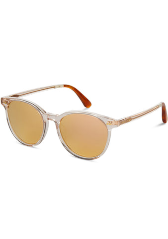 TOMS Bellini Sunglasses in Champagne Crystal