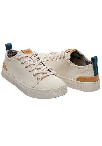 Travel Lite Low Sneakers in Birch Canvas