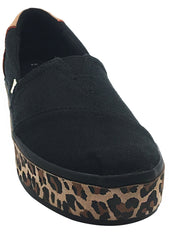 Black Leopard Heritage Boardwalk Sneakers