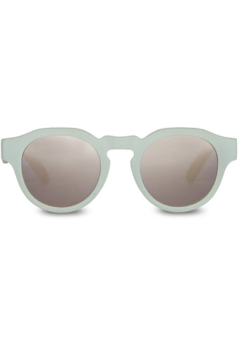 TRAVELER Bryton Sunglasses in Matte Aqua