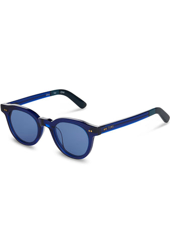 Fin Sunglasses in Midnight Blue
