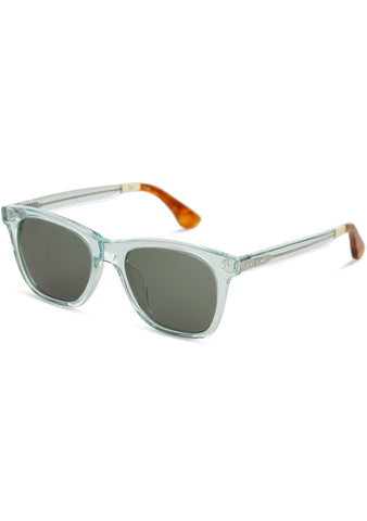 Fitzpatrick Sunglasses in Blue Crystal/Green