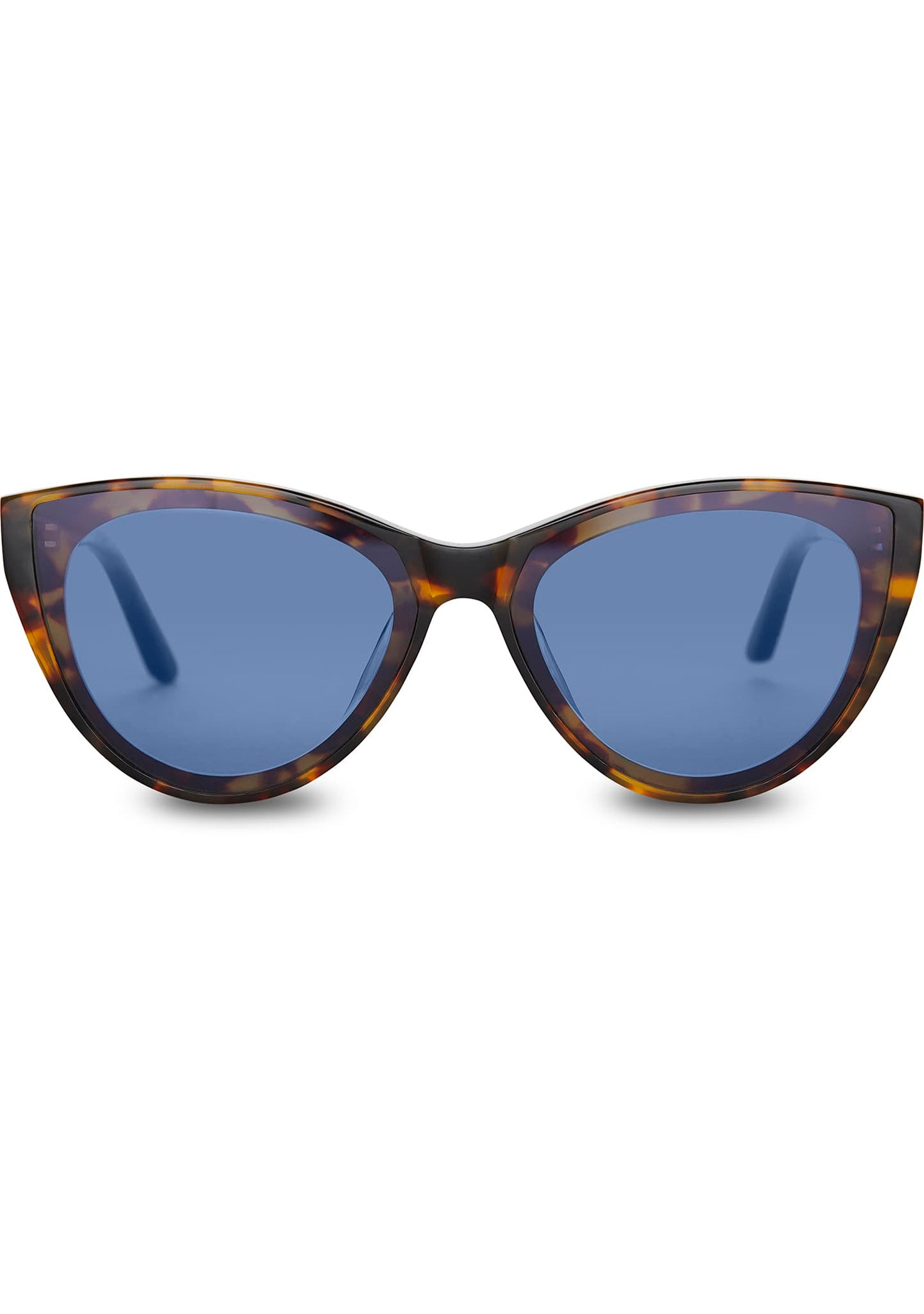 Josie Sunglasses in Blonde Tortoise/Blue