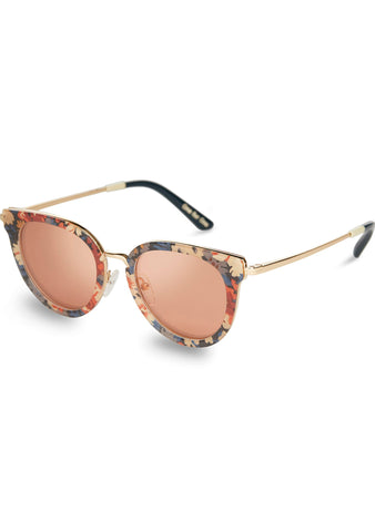 Rey Sunglasses in Thorpe Liberty/Peach