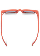 TRAVELER Zuma in Matte Persimmon/Blue Sunglasses