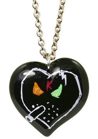 Tarina Tarantino X KidRobot I Love Smorkin Long Heart Necklace