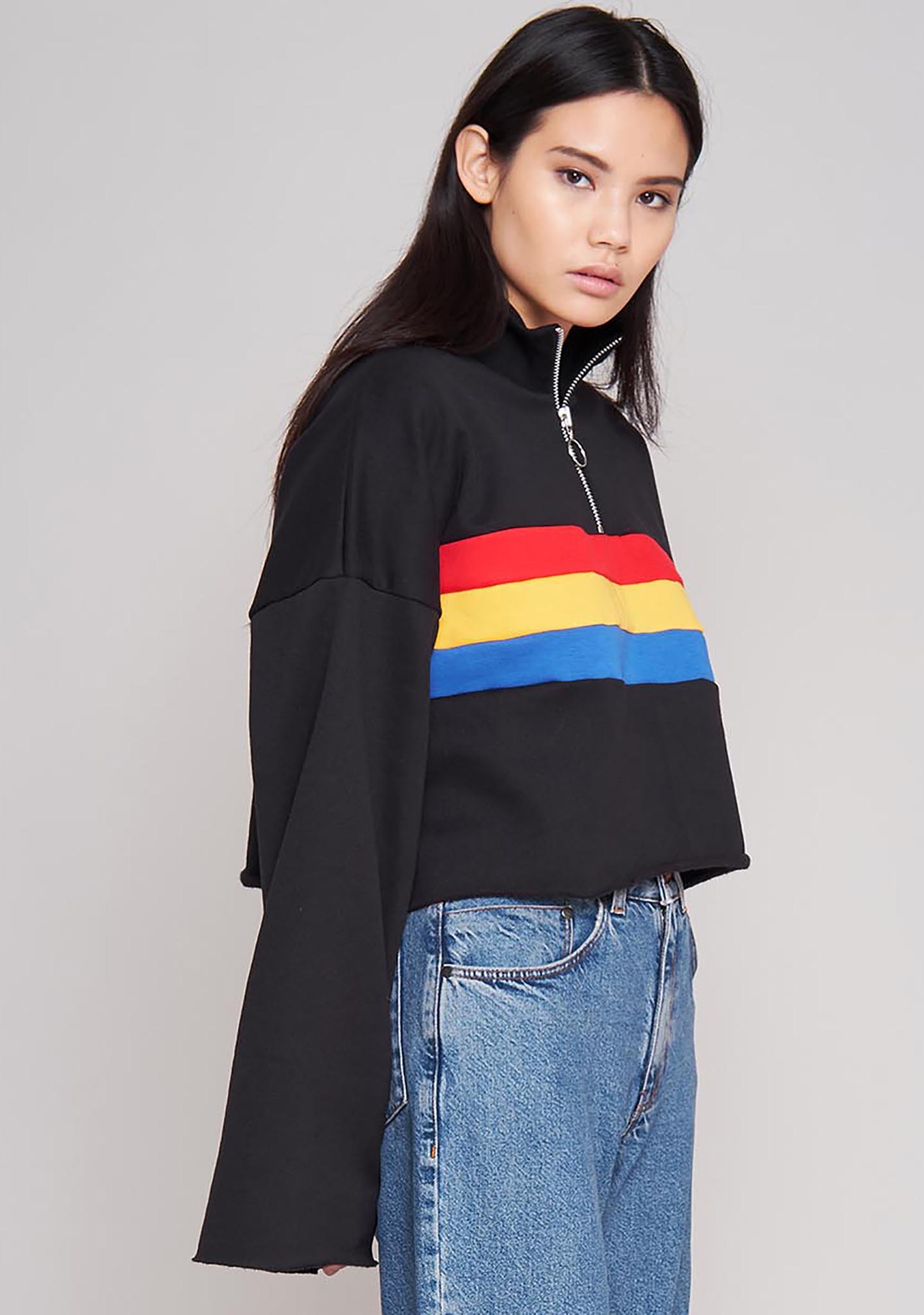 The Ragged Priest Faster Zipper Sweater