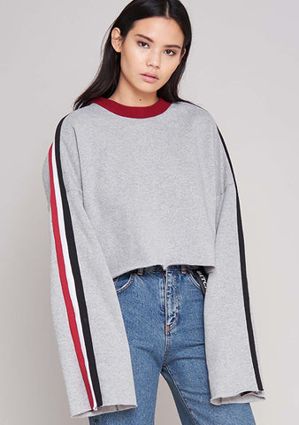 The Ragged Priest Highway Sweater in Grey