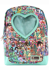 California Dreamin' Heart Window Backpack