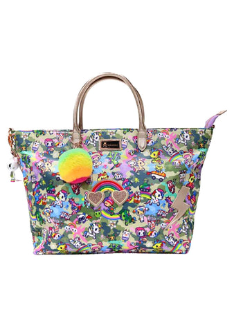 Camo Kawaii Tote Bag