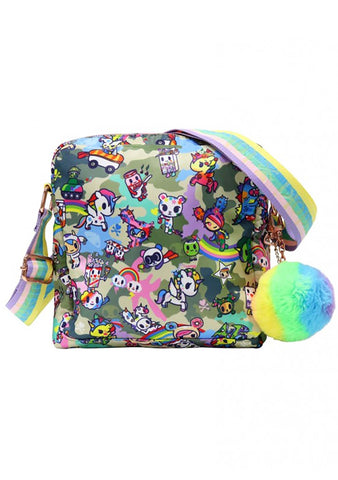 Camo Kawaii Crossbody Bag