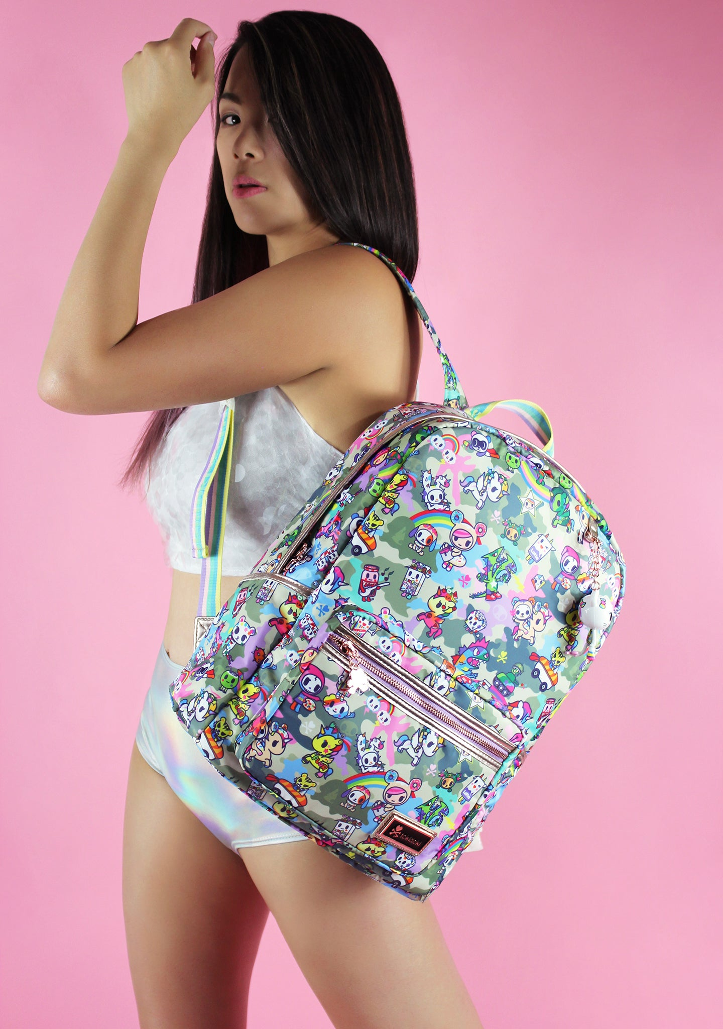 Camo Kawaii Backpack