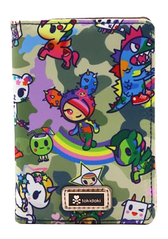 Camo Kawaii Small Bifold Wallet