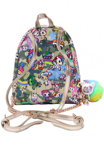 Camo Kawaii Mini Backpack