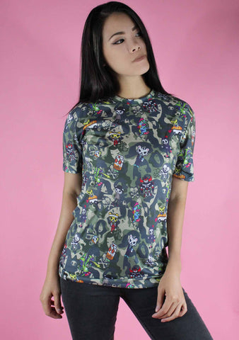 TOKIDOKI Crusader Women's Boy Fit Tee