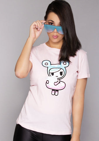Donutella Diamond Heart T-Shirt