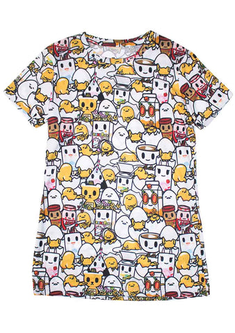 Eggcellent All Over Print Tee