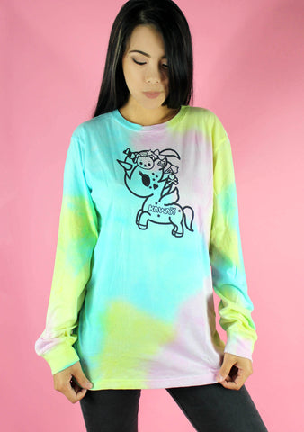 Harajuku Pony Long Sleeve Tee