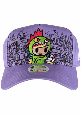 Tokidoki Lil Kaiju Snapback Hat in Purple