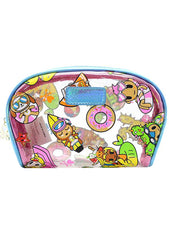Pool Party Clear Cosmetic Case