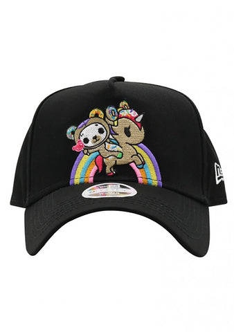 TOKIDOKI Rainbow Ride Snapback Hat