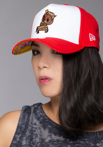 Slider and Fries Snapback Hat
