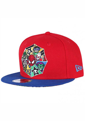 X Marvel Spidey Web Snapback Hat