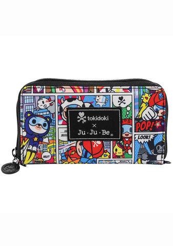 Ju-Ju-Be X Tokidoki Super Toki Be Spendy Zip Wallet