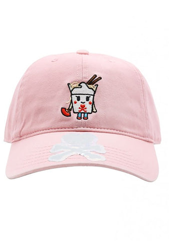 TOKIDOKI Take Me Out Adjustable Dad Hat in Pink