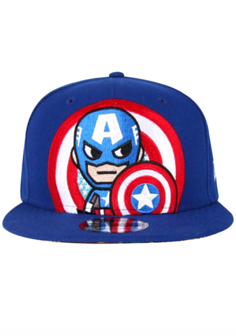 X Marvel The Captain Snapback Hat