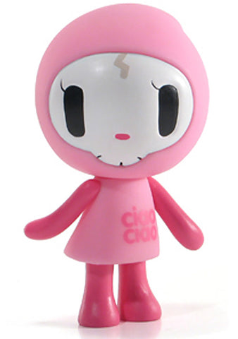 Tokidoki Til Death Do Us Part Ciao Ciao Vinyl Toy in Pink