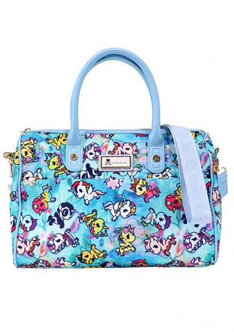 Watercolor Paradise Bowler Bag
