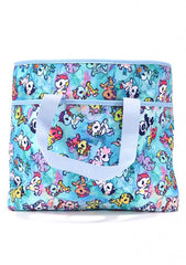 TOKIDOKI Watercolor Paradise Cinch Crossbody Tote