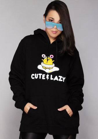 X Gudetama Cute and Lazy Hoodie