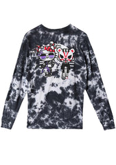 X Hello Kitty Geisha Mens Long Sleeve Shirt