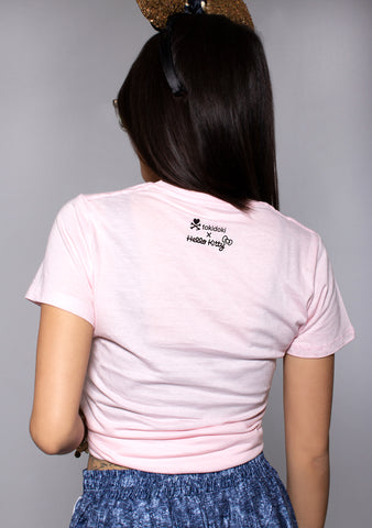 X Hello Kitty Rise & Shine Tee in Pink