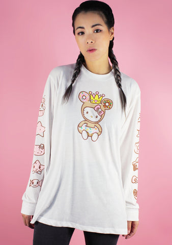 Tokidoki X Hello Kitty Sweet Shop Long Sleeve Tee