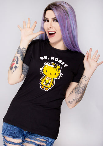 X Hello Kitty Oh Honey Kitty Tee