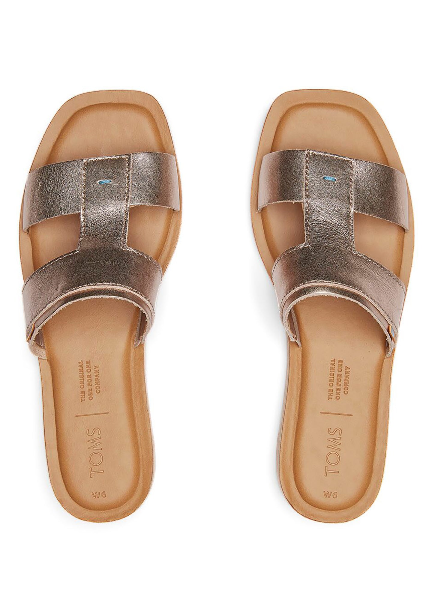 Seacliff Metallic Leather Sandals