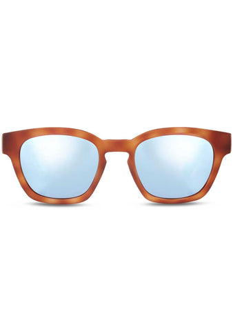 TOMS TRAVELER Bowery Sunglasses in Matte Honey Tortoise