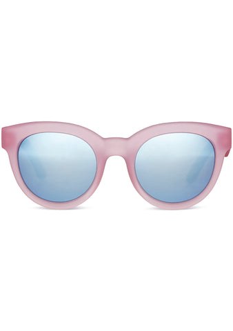 TOMS TRAVELER Florentin Sunglasses in Matte Pink/Blue