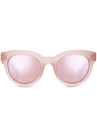 TOMS TRAVELER Florentin Sunglasses in Matte Smoke Lilac