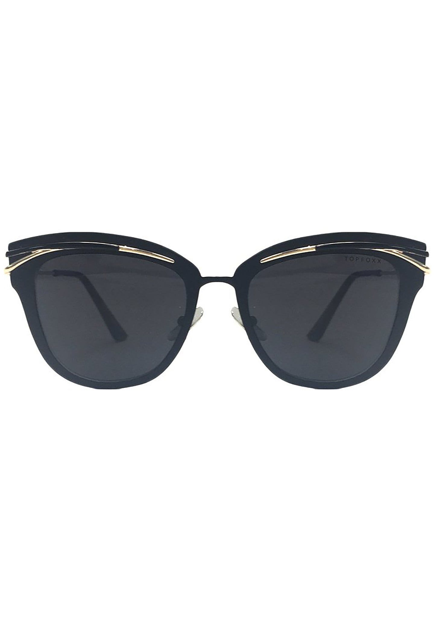 Candy Sunglasses in Black Gold