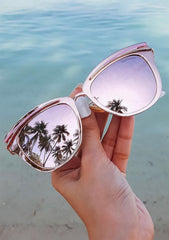Candy Sunglasses in Rose Gold