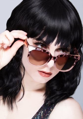Coco Sunglasses in Tortoise Fade